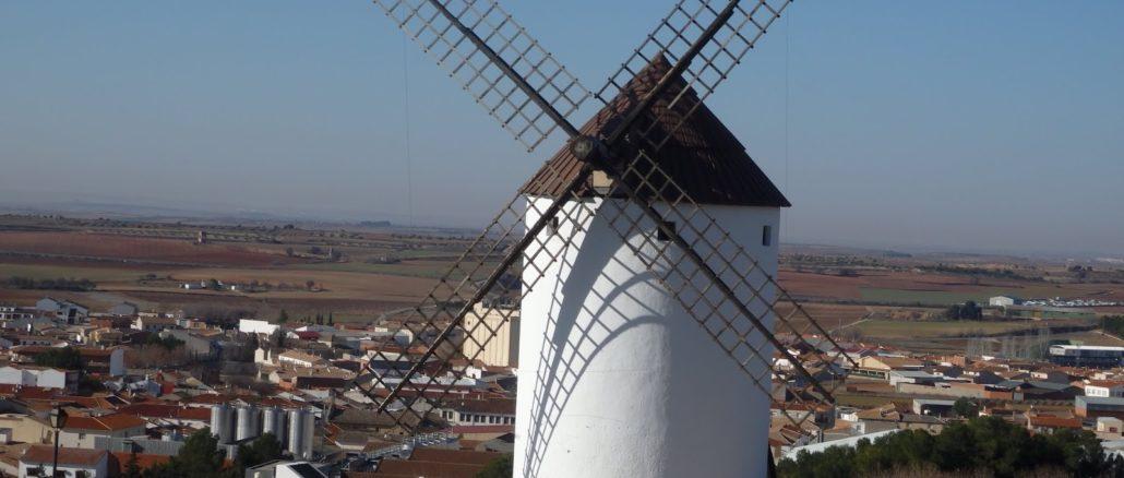 Molino en Mota del Cuervo (Cuenca)