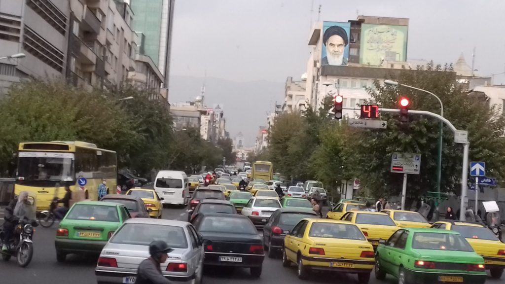 Centro de Teherán Macu Llorente