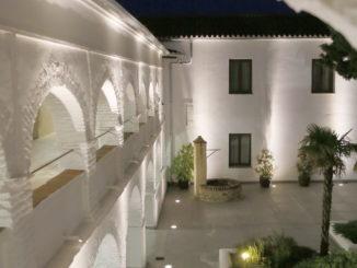 Hotel convento para relajar cuerpo y mente.