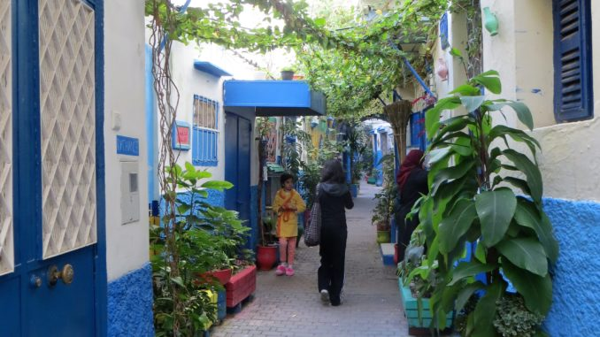 Un oasis en pleno centro de Tánger (Marruecos)