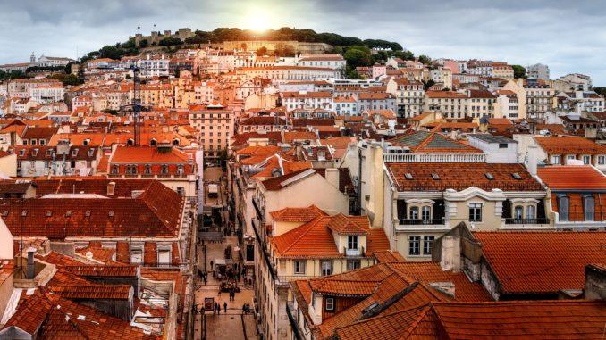 Lisboa a vista de pájaro.