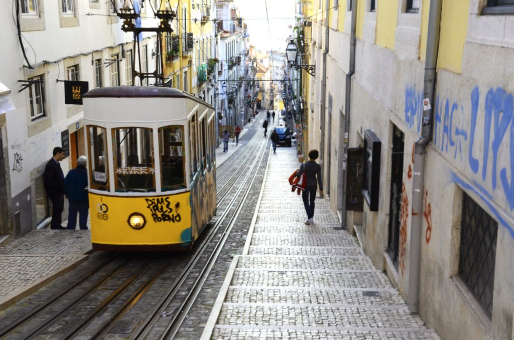 Tranvía de Lisboa pxhere