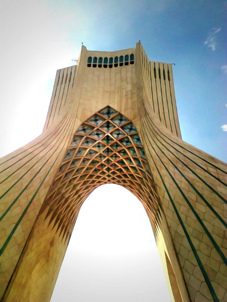 Torre Azadi o de la Libertad Macu Llorente