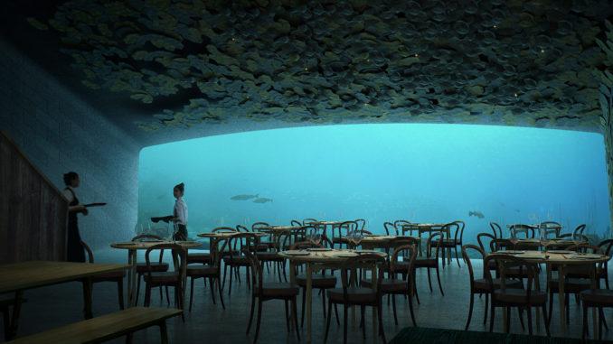 Restaurante Under, Snøhetta.