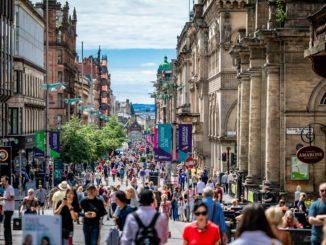 Galerías Buchanan en Glasgow (Escocia, Reino Unido)