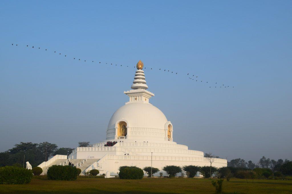 Templo en Lumbini (Nepal)
