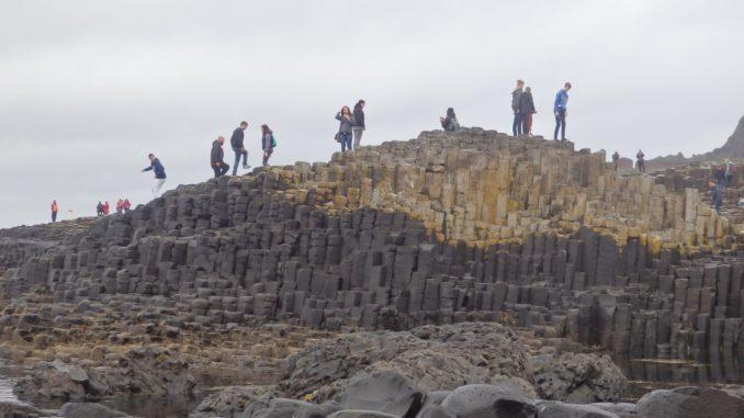 Calzada de los Gigantes (Irlanda del Norte). Autor: H. González