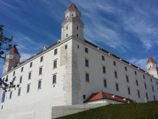 Vista del Castillo de Bratislava. Autor: soloqueremosviajar.com