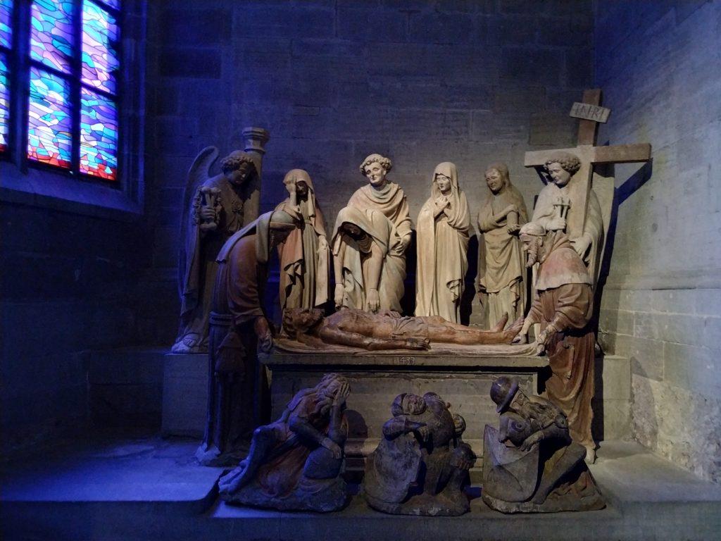 Esculturas en la Catedral de San Nicolás (Friburgo). Autor: M. Marzo/Solo Queremos Viajar
