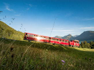 El tren cremallera SchafbergBahn. Autor: Turismo de Austria