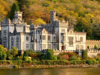 Preciosa vista de la Abadía de Kylemore. Autor: Turismo de Irlanda