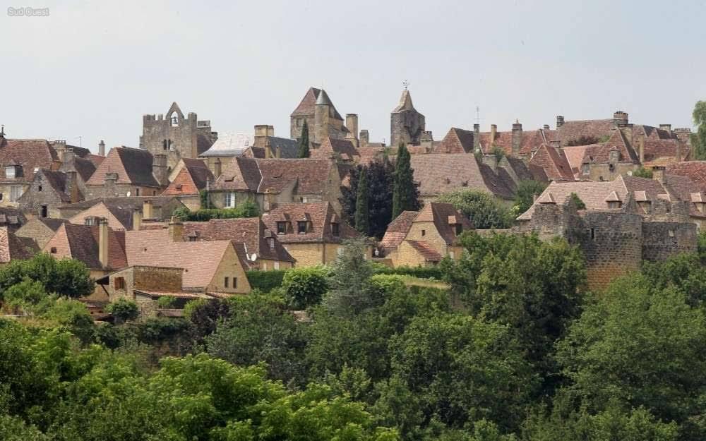 La localidad francesa de Domme, en la Dordoña. Autor: Wikipedia
