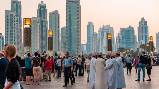 Dubai, centro ciudad