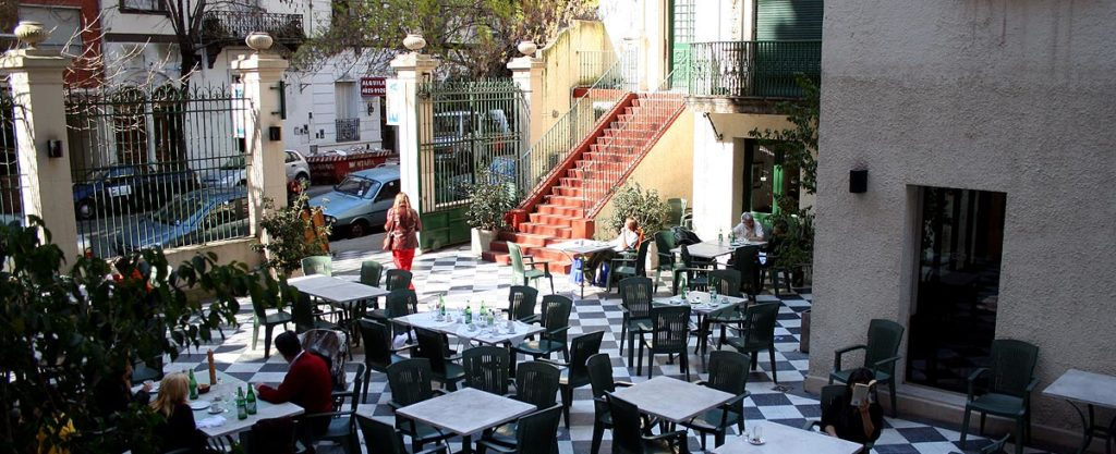 Imagen del patio del Museo Evita Perón (Argentina). Autor: Turismo de Buenos Aires