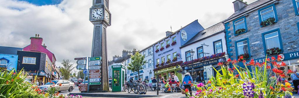 Vista del centro de Westport, municipio irlandés situado en el condado de Mayo. Autor: Turismo de Irlanda