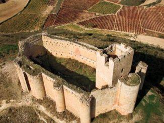 Vista del Castillo de Davalllillo (La Rioja). Autor: Turismo de La Rioja.