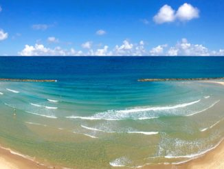 Playa de Netanya, Israel