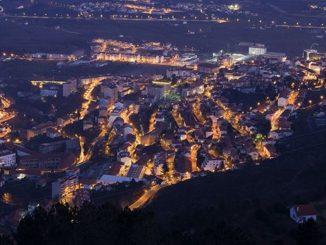 Vista de la ciudad de Covilha. Autor: Turismo de Portugal.