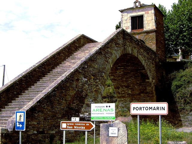 Portomarín (Lugo, Galicia)