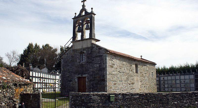 Iglesia de Maroxo (Arzúa, Galicia)