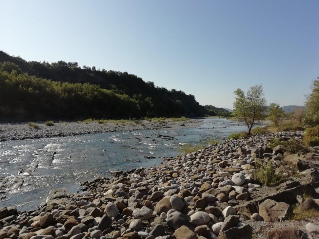 Río Cinca en Labuerda (Huesca)