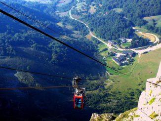 Teleférico de Fuente Dé (Picos de Europa)