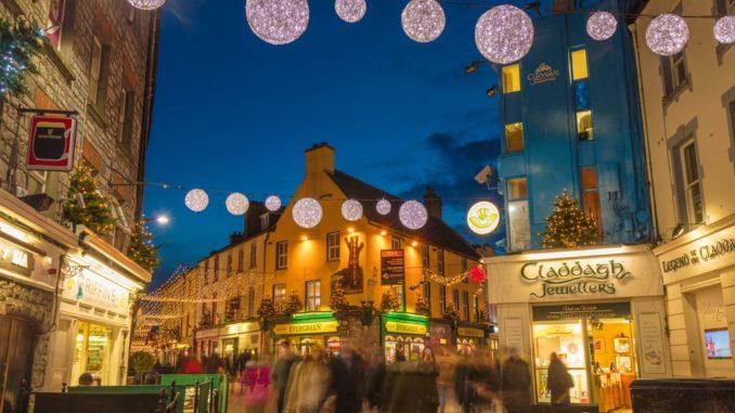 Eyre Square Galway, irlanda
