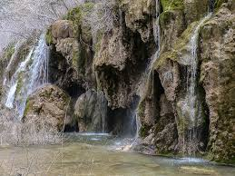 Cascada en el río Cuerva (Cuenca)
