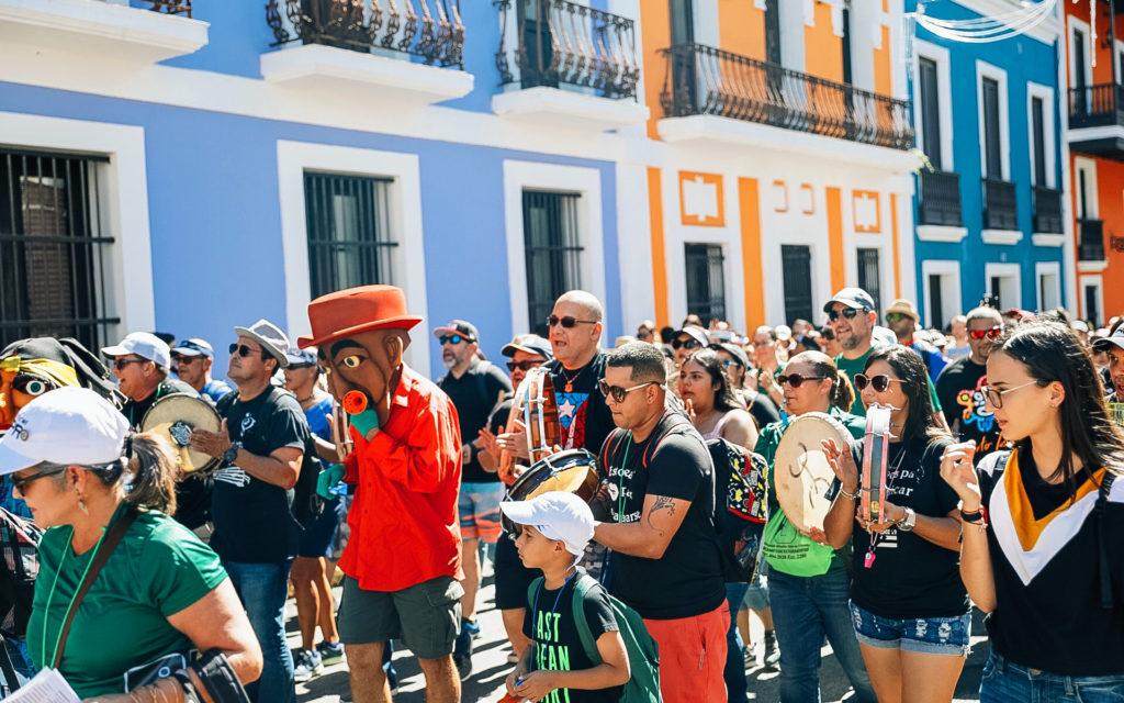Fiestas en las calles de Puerto Rico