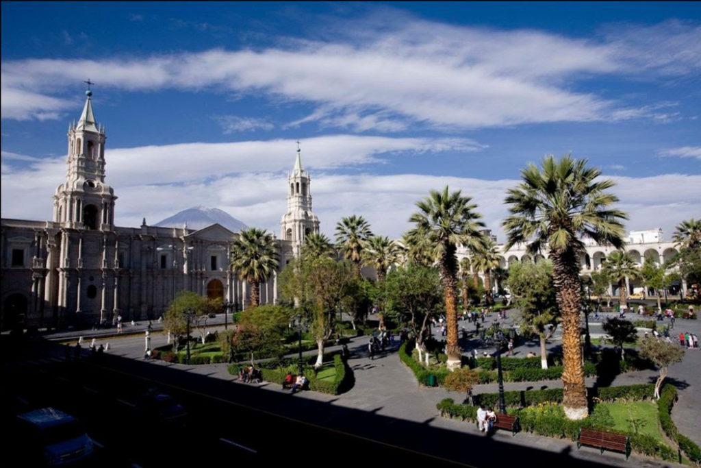 La ciudad de Arequipa