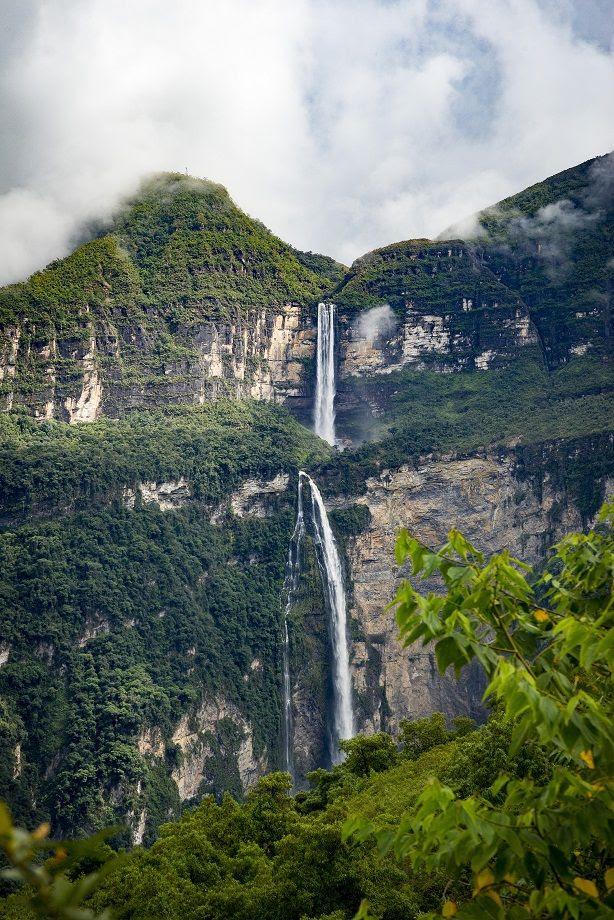 La catarata Gocta (Perú)