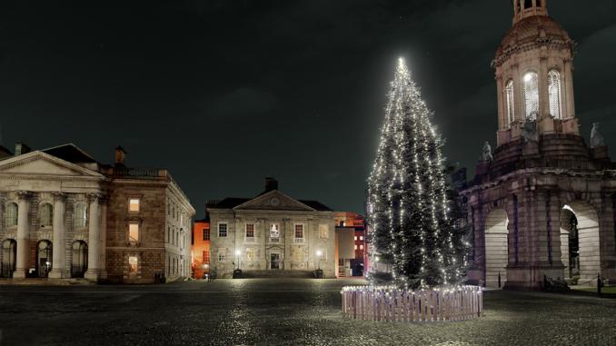 Árbol de Navidad en Irlanda
