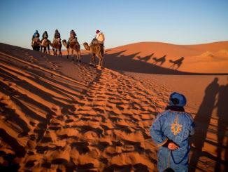 Desierto de Merzouga (Marruecos)