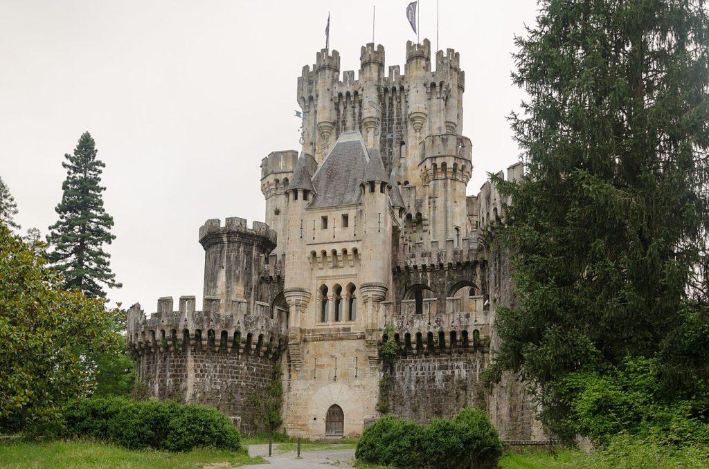 Castillo de Butrón (País Vasco)