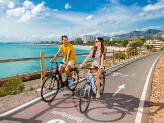 Ruta en bici por la costa de Benicàssim (Castellón)
