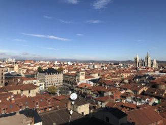 Vista de León