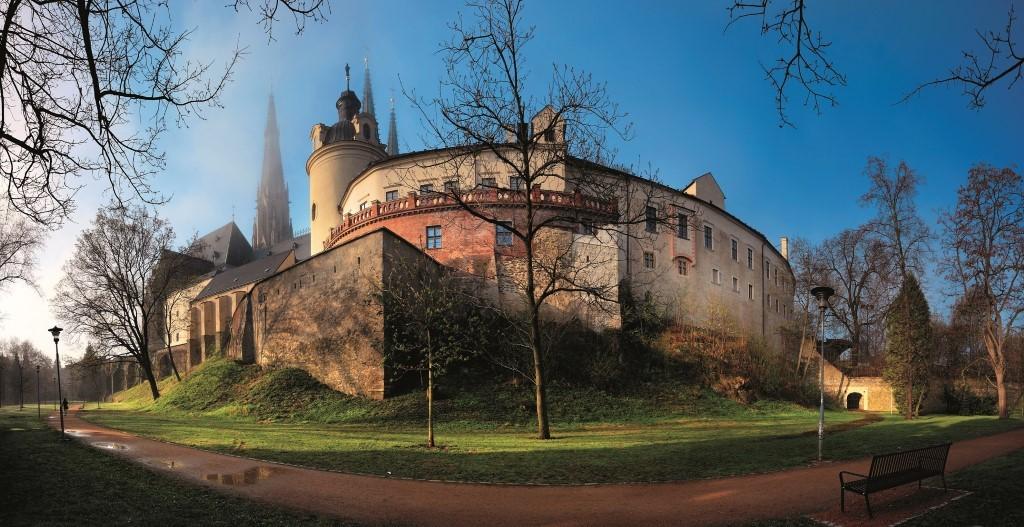 Chequia ruta roja de los castillos con misterio