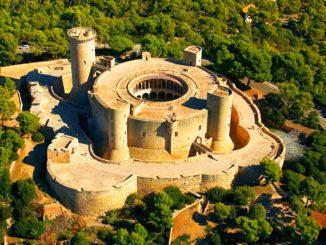 Castillo de Bellver (foto aérea)
