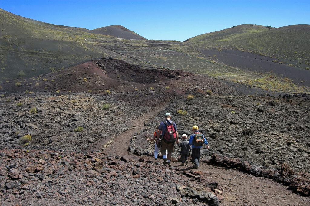 LaPalma Caminando entre volcanes P. Fernández