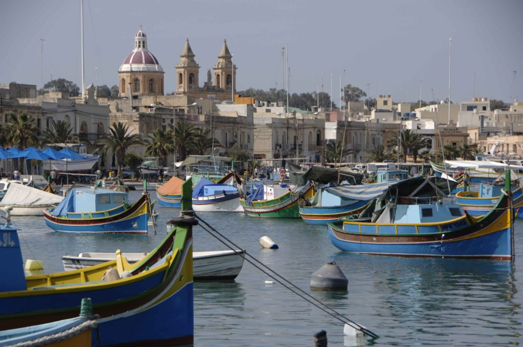 Marsaxlokk, pueblo con encanto de Malta