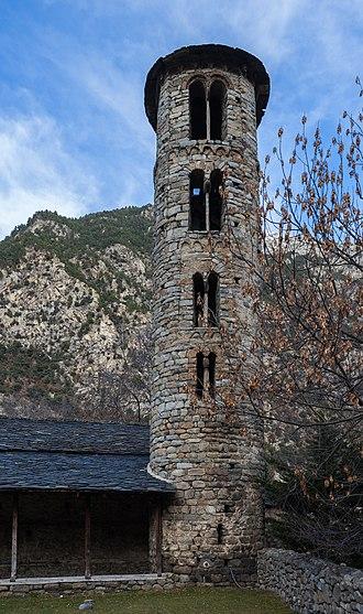 330px Iglesia de Santa Coloma de Andorra Santa Coloma Andorra 2013 12 30 DD 03