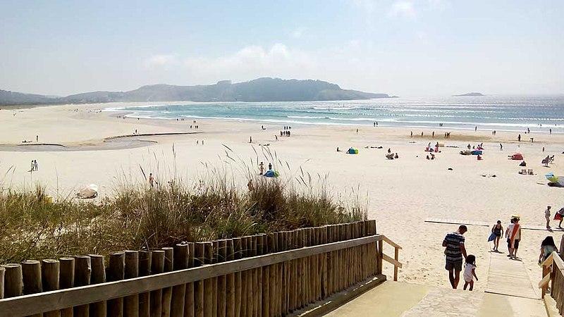 800px Praia de Esmelle Ferrol A Coruña Spain