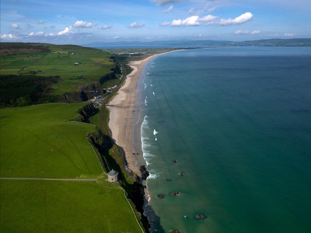 Playa de Downhill Irlanda del Norte