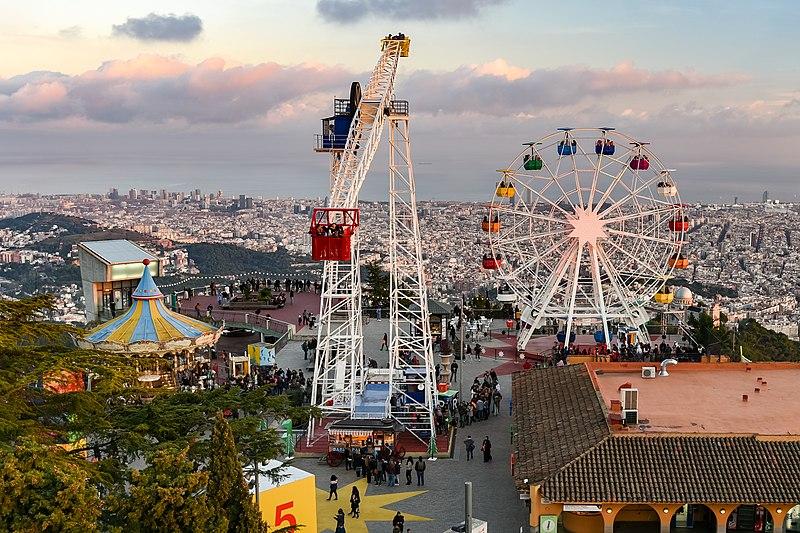 Parque de atracciones Tibidabo (Barcelona)