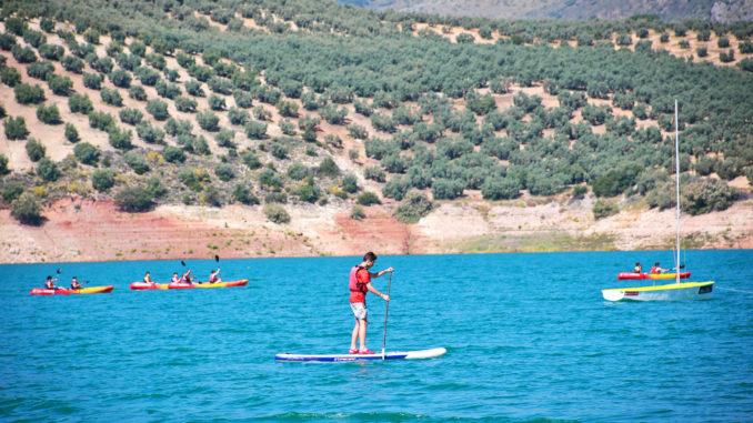 Embalse de Iznájar, el 'Lago de Andalucía'