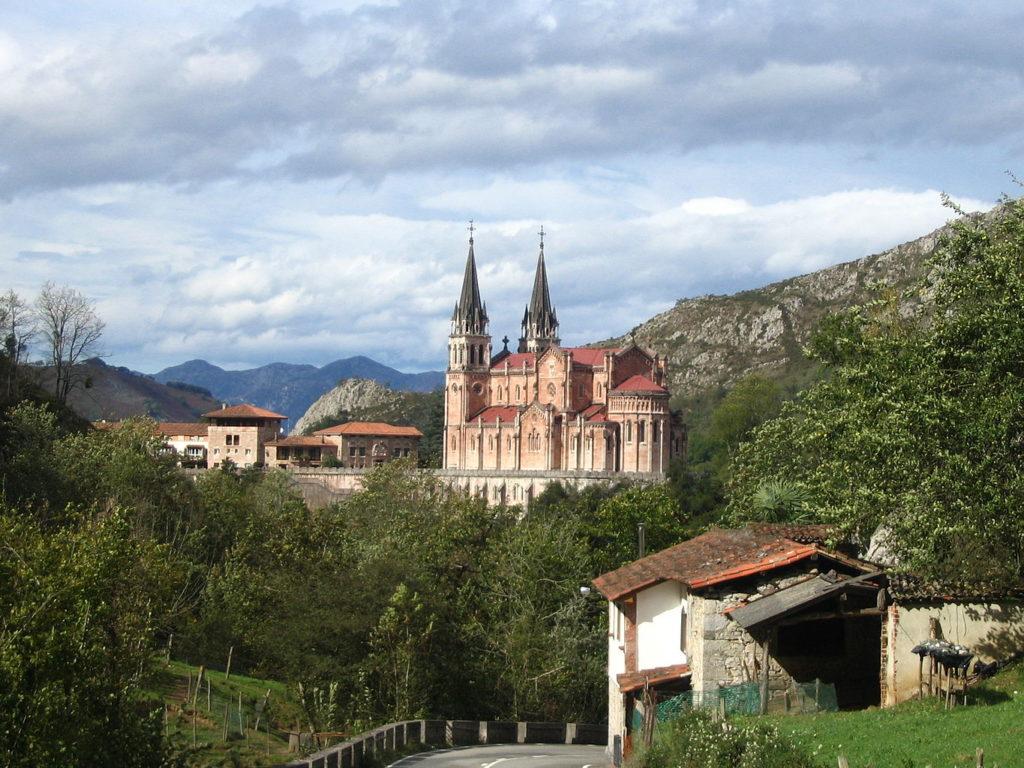 Basílica de Santa María la Real de Covadonga (Asturias)