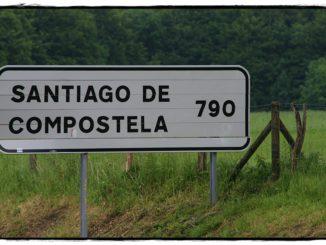 Distancia entre Santiago de Compostela y Roncesvalles (Navarra)