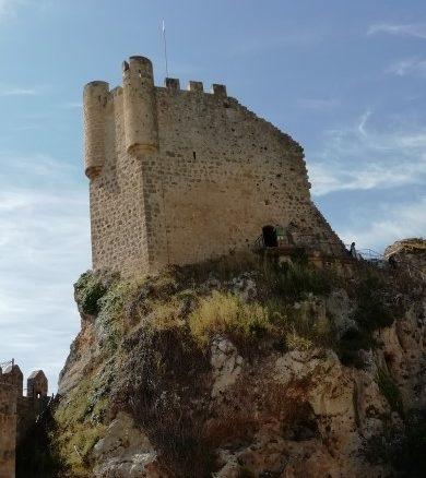 Torre del homenaje del castillo de Frías (Burgos)